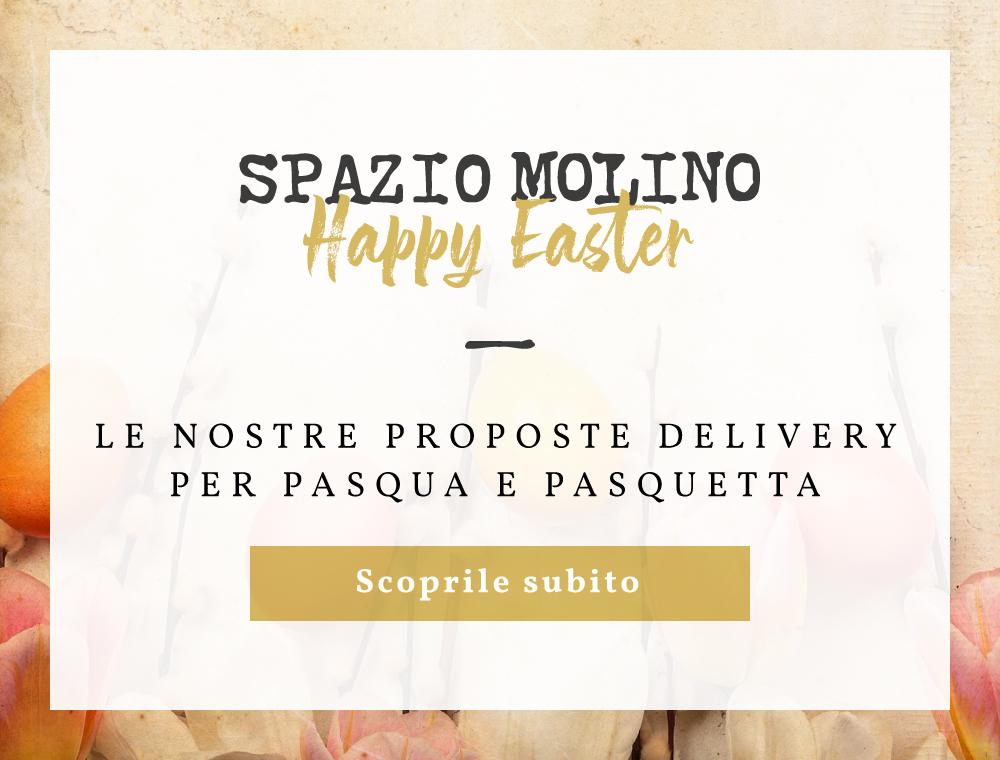 Spazio Molino - Menu di Pasqua e Pasquetta Aprile 2021